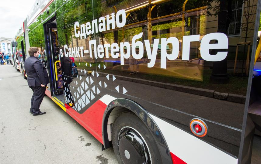 """Петербург рассчитывает на электробусы. Фото Святослав Акимов, """"Metro"""""""