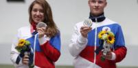 Виталина Бацарашкина и Артем Черноусов стали серебряными призерами в стрельбе из пневматического пистолета