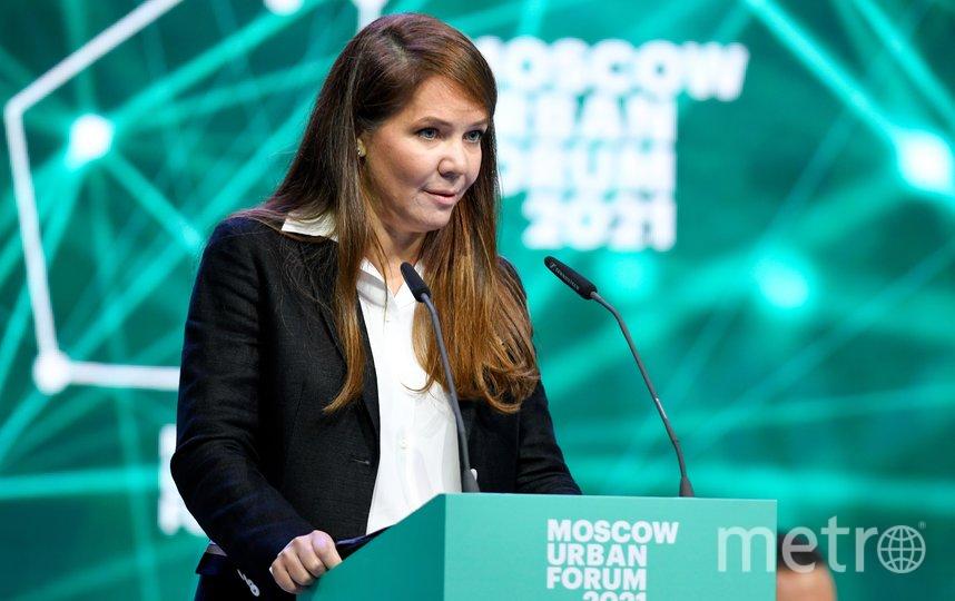 Анастасия Ракова. Фото Денис Гришкин, пресс-служба мэра и правительства Москвы