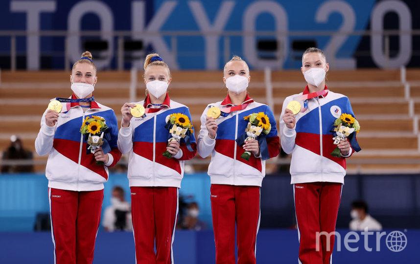 Российские гимнастки. Фото Getty