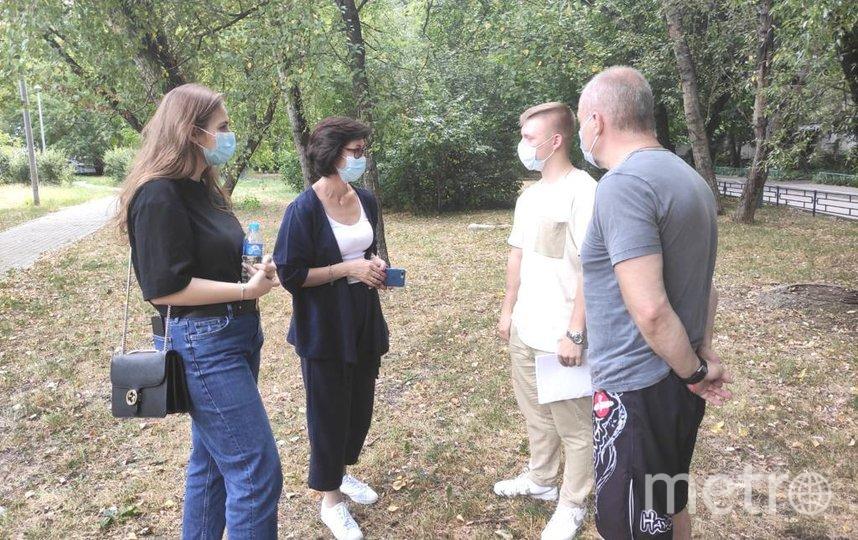 Встреча Елены Кац с общественностью Вешняков. Фото Дарья Сорокина.