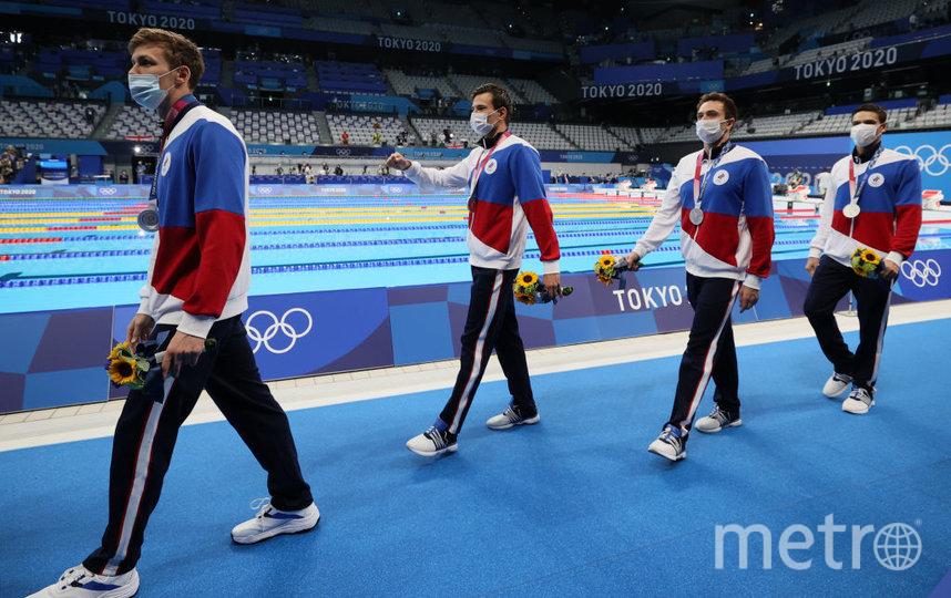 Мартин Малютин, Иван Гирев, Евгений Рылов и Михаил Довгалюк. Фото Getty