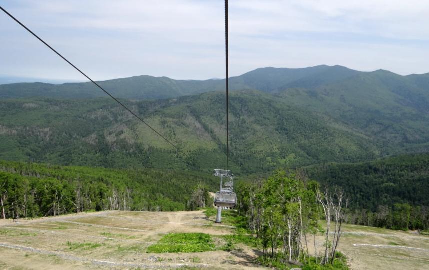"""Спортивно-туристический комплекс """"Горный воздух"""" расположен на горе Большевик на высоте 601 метр над уровнем моря. Фото Мария Позина, """"Metro"""""""
