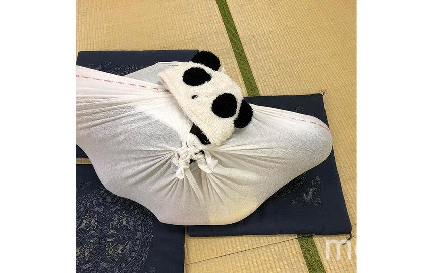 Подобный метод расслабления популярен в Японии. Фото Instagram@vienna.juku