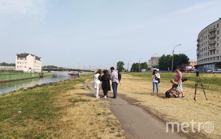 На набережной реки Охты появится сад непрерывного цветения. Фото https://www.gov.spb.ru/