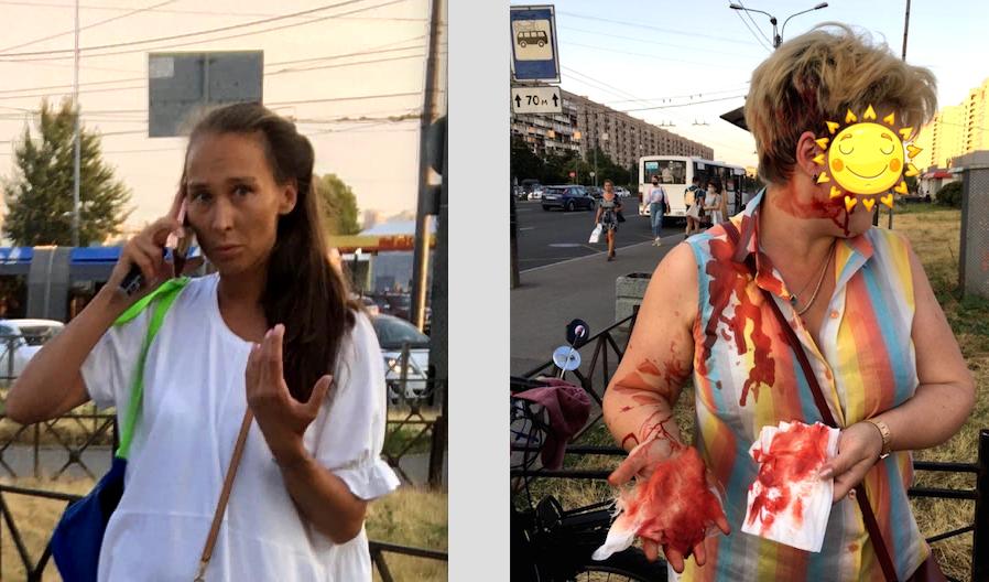 Свидетелей инцидента было много. Фото https://vk.com/spb_today