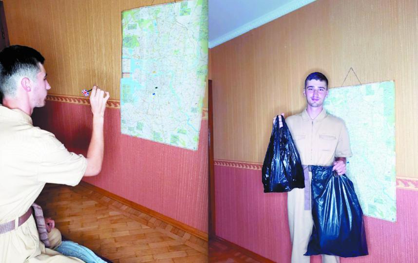 На выбранной локации блогер собирает пластиковые и стеклянные бутылки, алюминиевые банки, окурки. Фото Скриншоты TikTok @adalar-russian.