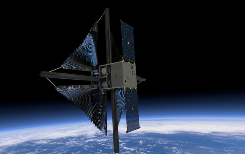 Давление света даже на орбите Земли мало, и оно уменьшается при отдалении от Солнца. Поэтому для движения придётся использовать паруса очень большой площади, чтобы они смогли уловить энергию светила. Фото NASA
