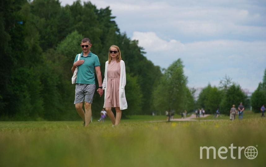 """В городе появляется всё больше зелёных зон, которые становятся центрами притяжения для горожан всех поколений. Фото АГН """"Москва"""""""
