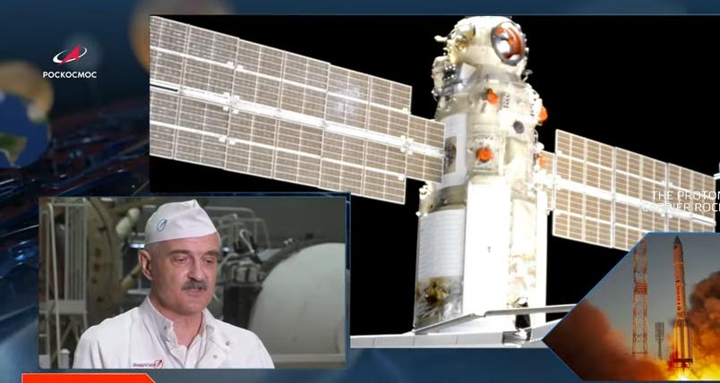 Модуль пристыковался к станции в автоматическом режиме. Фото Роскосмос.