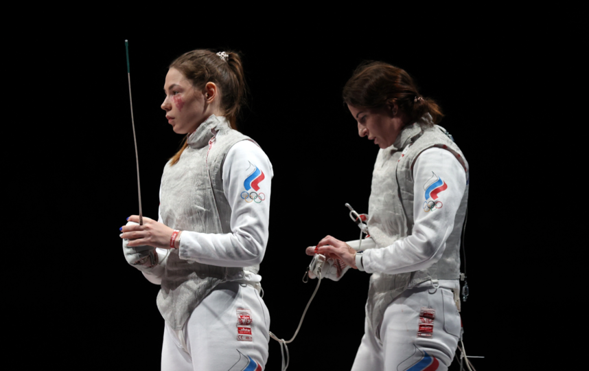 Марта Мартьянова и Инна Дериглазова. Фото Getty