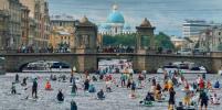 Фестиваль «Фонтанка-SUP» стартовал в Петербурге