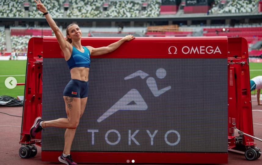 Кристина Тимановская в Токио. Фото Instagram: @kristi_timanovskaya