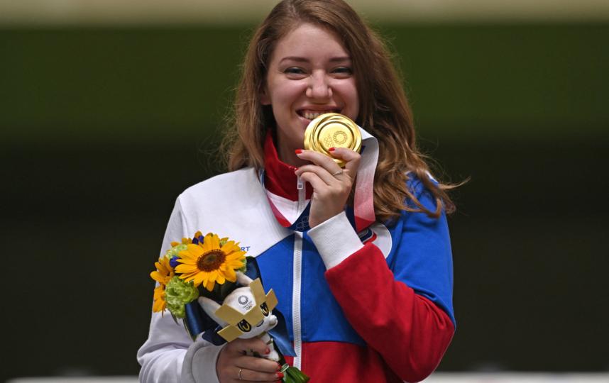 4 олимпийские медали завоевала за свою карьеру Виталина Бацарашкина, включая серебро на 10 метрах в Рио-2016. Фото Getty