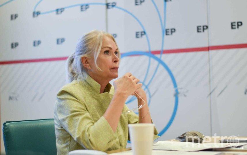 Ирина Белых отметила, что Москва вкладывает серьезные ресурсы в реализацию программы реновации. Фото Ольга Крылова