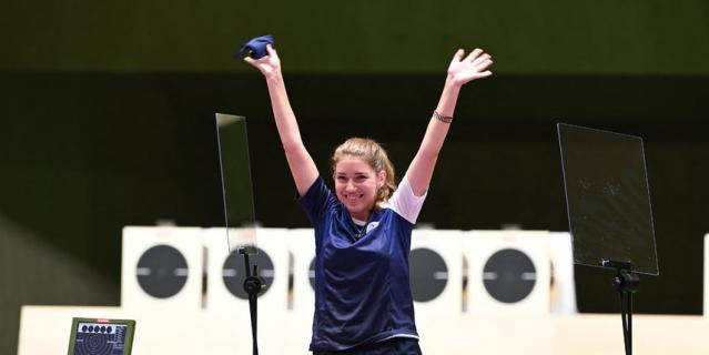 Виталина Бацарашкина стала олимпийской чемпионкой в дисциплине 25 м.