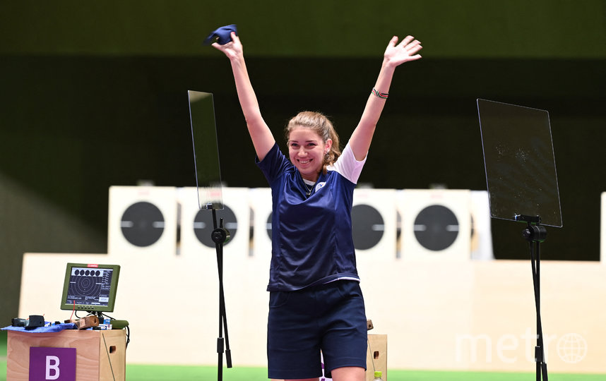 Виталина Бацарашкина стала олимпийской чемпионкой в дисциплине 25 м. Фото AFP