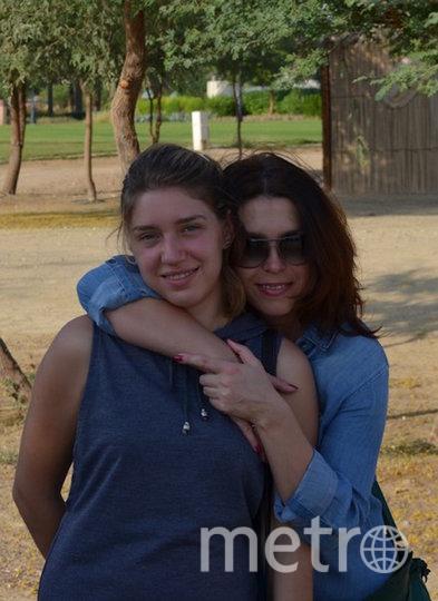 Виталина и её мама Ирина. Фото из личного архива Бацарашкиных
