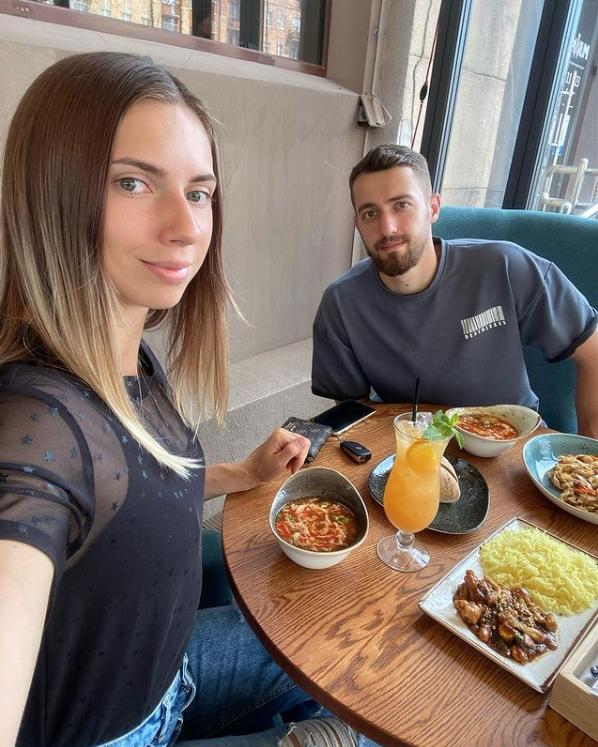 Кристина с супругом. Фото Instagram: @kristi_timanovskaya