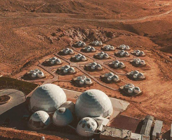 Или в Bubble Lodge Bois Chéri на Маврикии. Фото Wadi Rum Bubble Luxotel