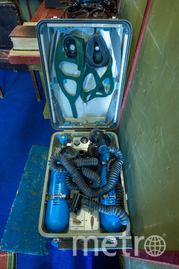 """Это раритетный аппарат ИВЛ, который использовали на одной из полярных станций в СССР. Фото Святослав Акимов, """"Metro"""""""