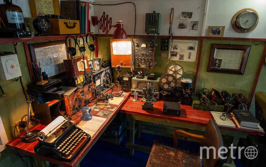 """На советских станциях кухня, спальня и радиорубка находились в одном помещении. Фото Святослав Акимов, """"Metro"""""""