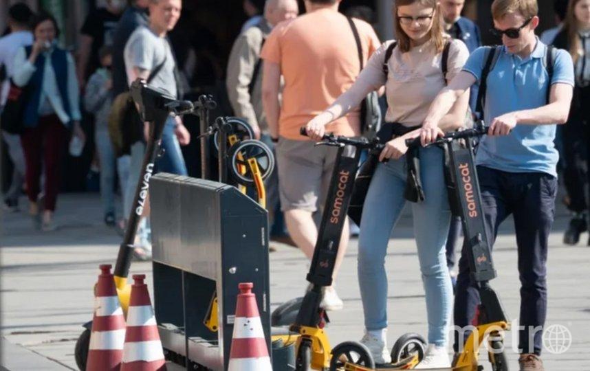 """Пункты проката должны будут иметь элементы для крепления. Фото Святослав Акимов., """"Metro"""""""