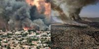 Мир в огне: природные пожары добрались до греческих Афин
