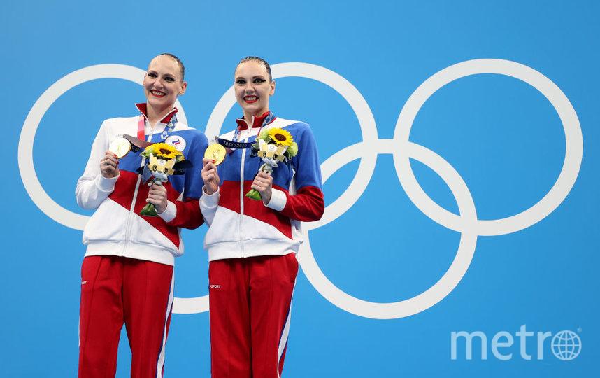 Светлана Ромашина и Светлана Колесниченко. Фото Getty