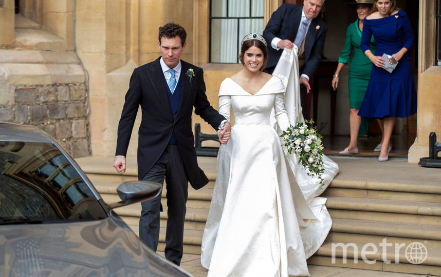 Принцесса Евгения с супругом. Фото Getty