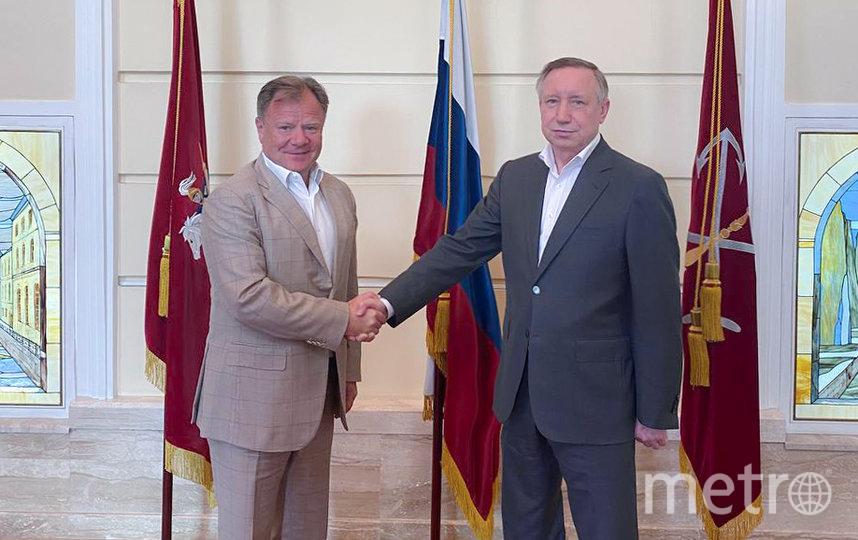 Игорь Бутман и Александр Беглов. Фото gov.spb.ru