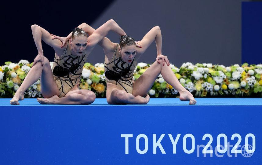 Выступление на Олимпиаде в Токио. Фото Getty