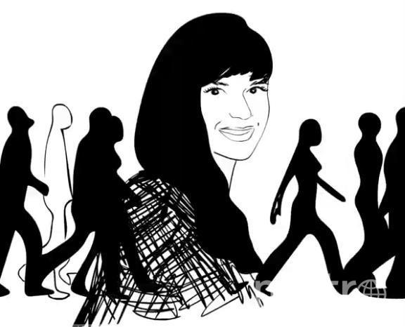 Девушка делает преимущественно черно-белые мультфильмы. Фото Скриншот Instagram @mult_ira