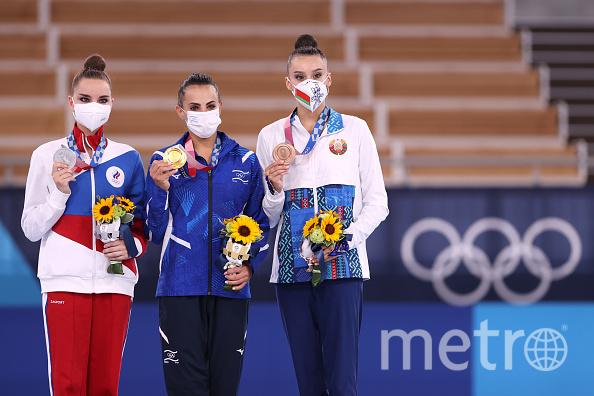 Дина Аверина заняла второе место на Олимпиаде. Фото Getty.