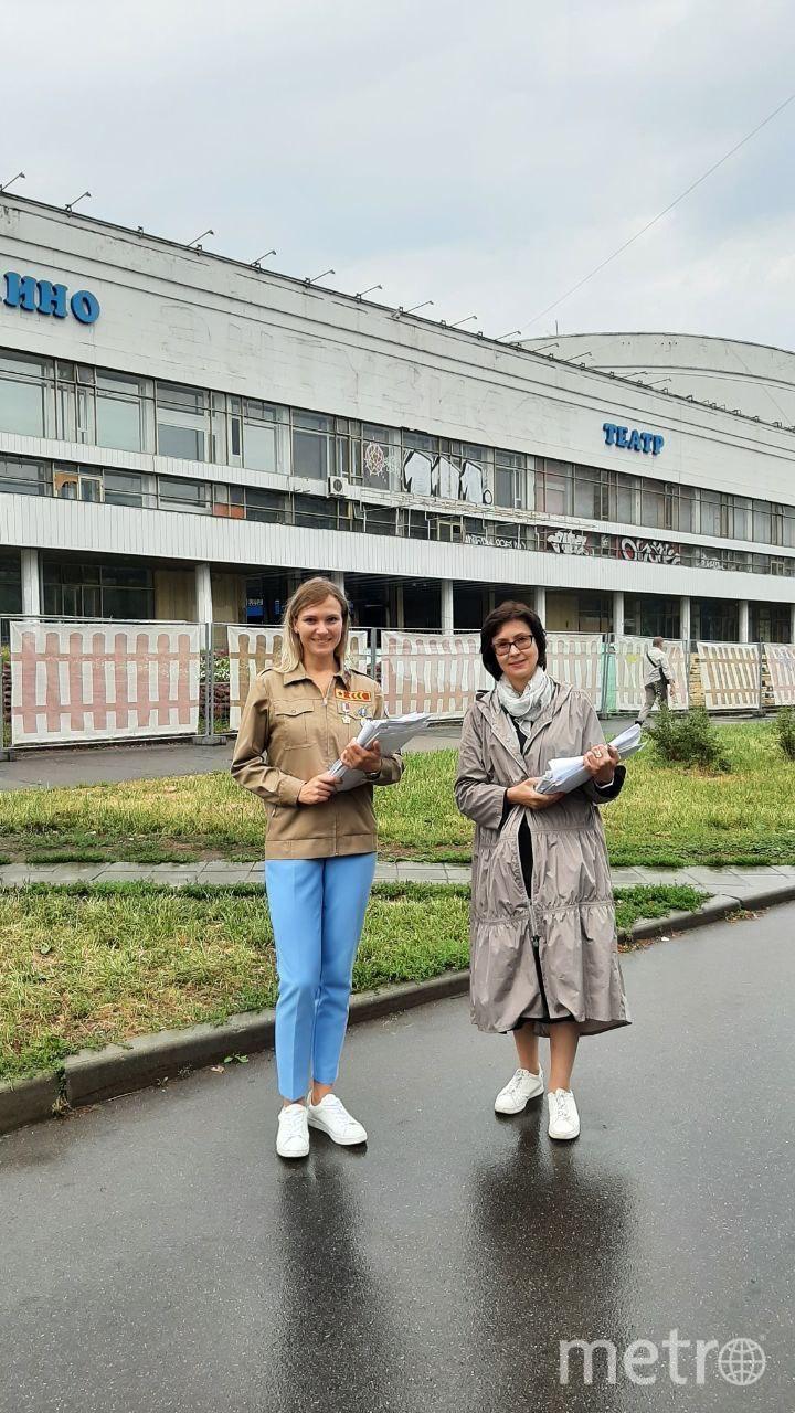 Елена Кац (справа). Фото Евгений Шустров