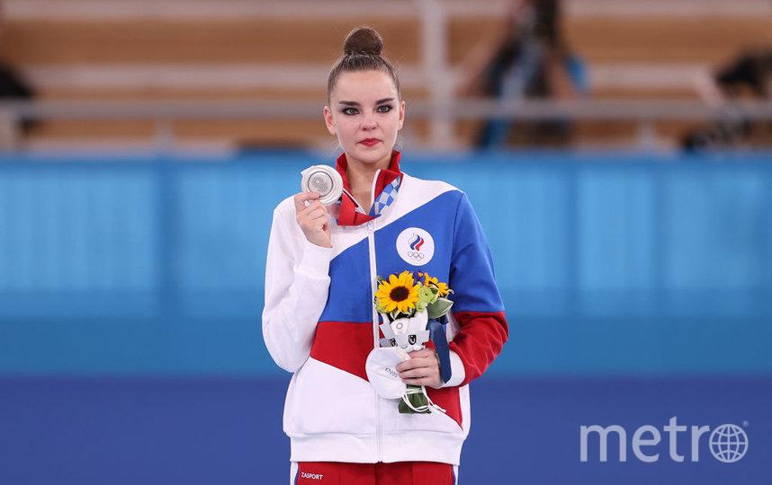 Дина Аверина завоевала серебро. Фото Getty