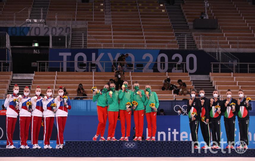 Первое место заняла команда Болгарии, второй - Росссия, а третье - Италия. Фото Getty