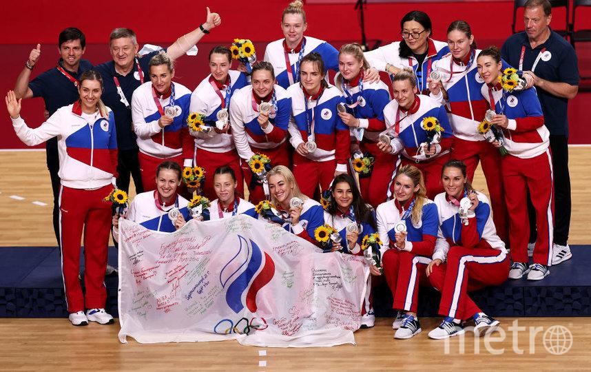 В финале российская команда по гандболу уступила французским спортсменкам и принесла сборной серебряную медаль. Фото Getty