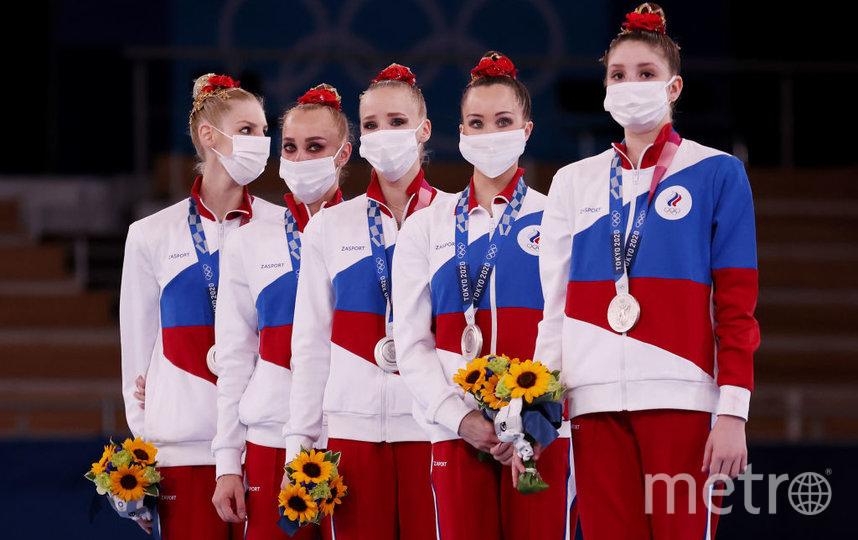 Российские гимнастки завоевали серебро. Фото Getty