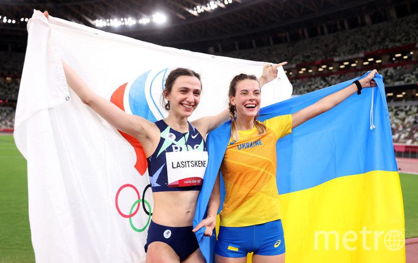 Ярослава Могучих и Мария Ласицкене. Фото Getty