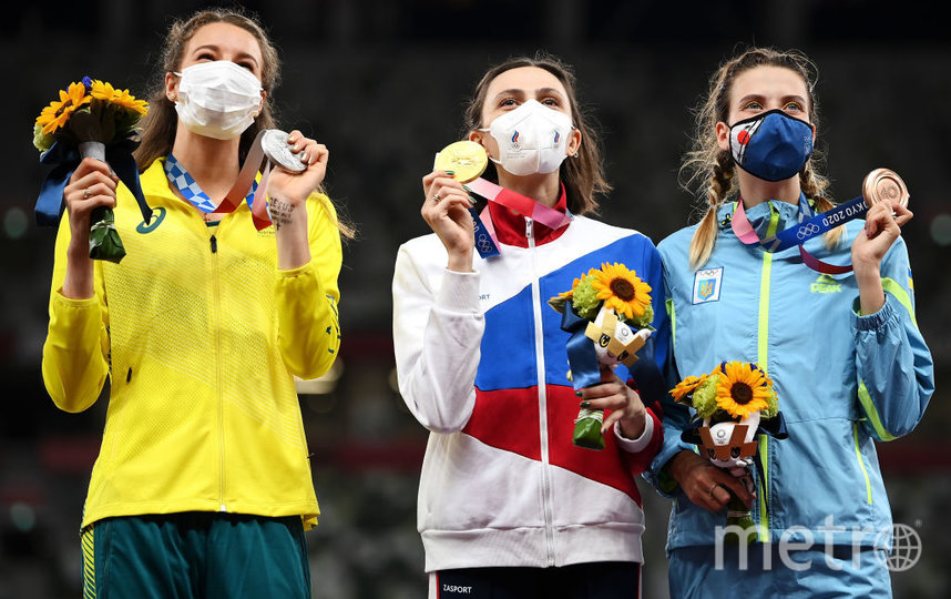 Золотую медаль завоевала россиянка, серебро - спортсменка из Австралии, а бронза досталась представительнице Украины. Фото Getty
