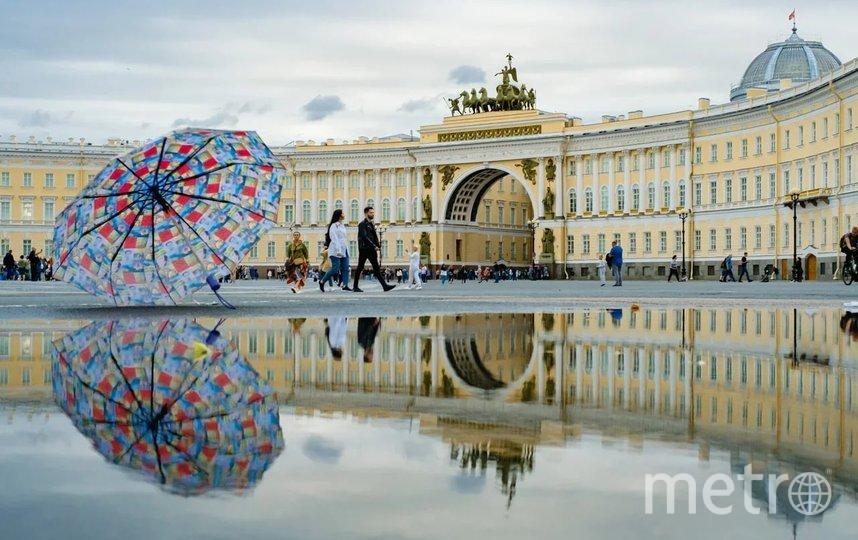 """Дворцовая площадь, Петербург. Фото Алена Бобрович, """"Metro"""""""
