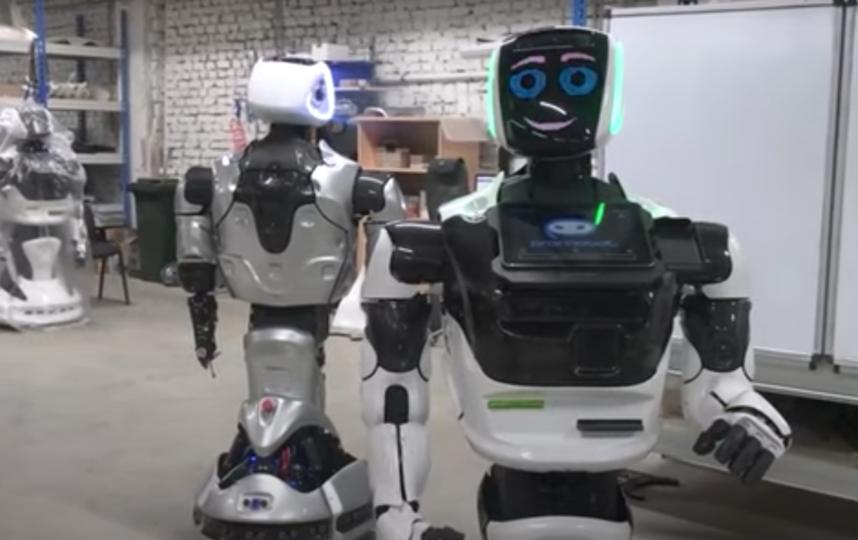 Аналогичный робот будет работать в Томском университете. Фото Скриншот видео: https://vk.com/promobot