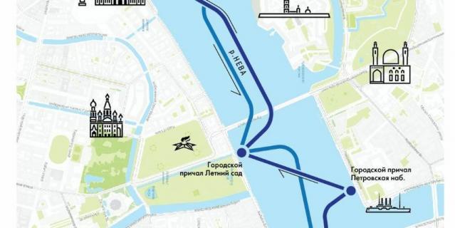 В Петербурге запустили регулярный кольцевой маршрут общественного водного транспорта.