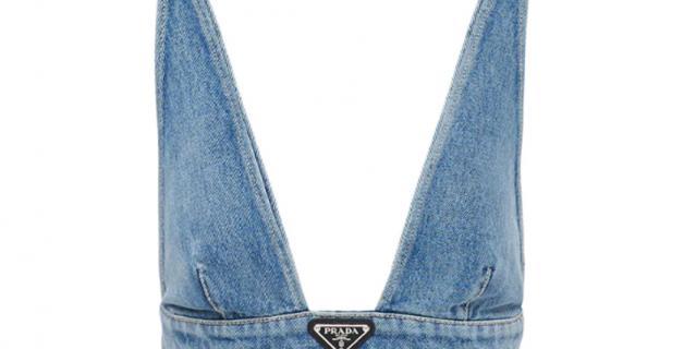 Топ из органического денима от Prada обойдется современному моднику в 47 тысяч рублей.