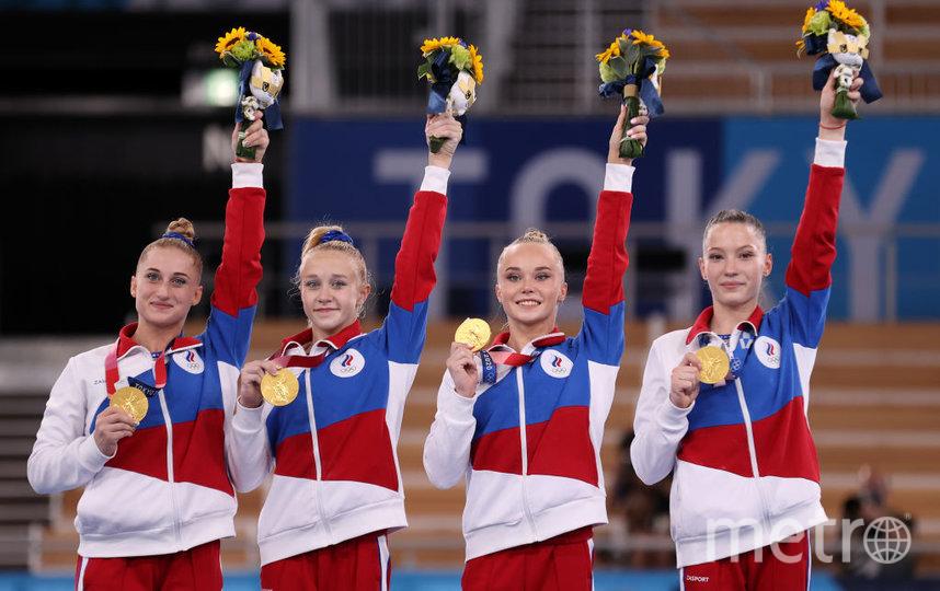 Команда ОКР заняла пятое место на Олимпийских Играх в Токио. Фото Getty