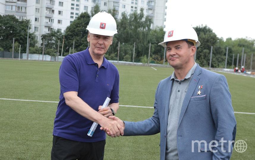 Роман Романенко и Сергей Собянин. Фото Иван Степанов