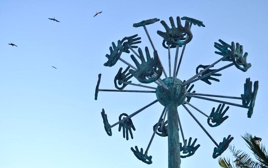 "Скульптура ""Одуванчик"". Фото Предоставлено организаторами"