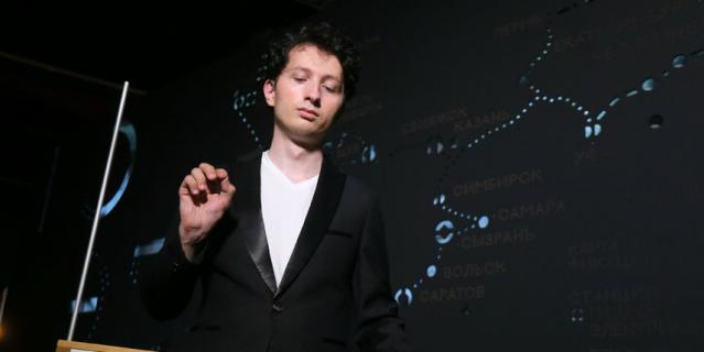 Пётр Термен, преподаватель, входит в двадцатку лучших исполнителей мира на терменвоксе.