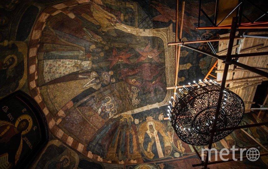 В Сретенском монастыре восстановят уникальные фрески. Фото https://vk.com/mossobyanin
